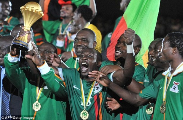 Zambia win their first Cup of Nations
