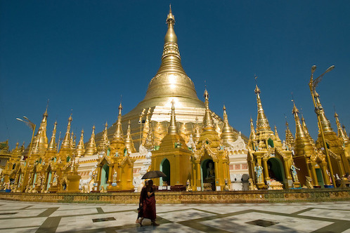 Burma's temples are the equal of any in Asia