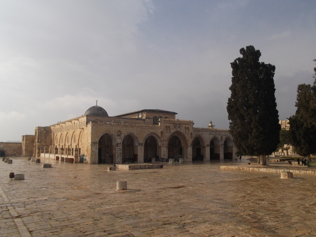 The al-Aqsa Mosque, Islam's third holiest site after Mecca and Medina