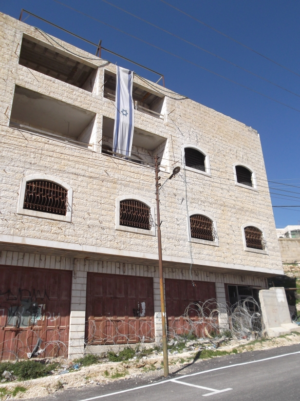 Former Palestinian business now taken over by so called Israeli settlers
