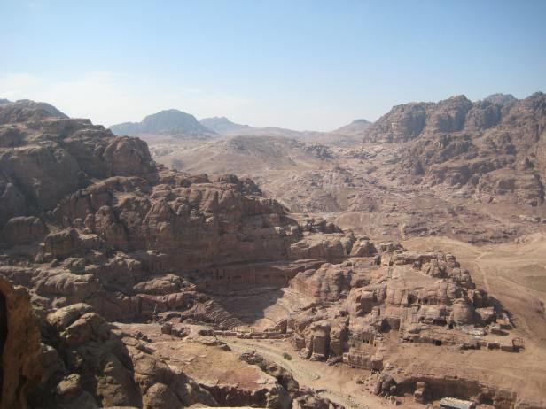 View from Jabal al Khubtha