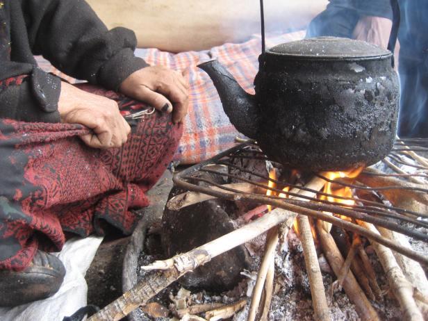 Tea, Bedouin style