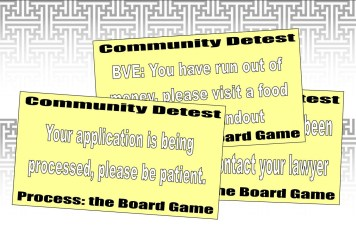 'Community Detest' cards