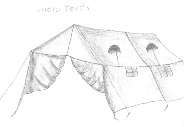 Detainee artwork from Nauru