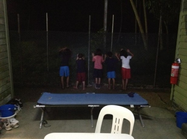 Children in detention: Manus Island.