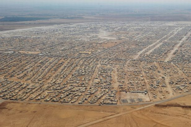 Zaatari, Syrian refugee camp in Jordan