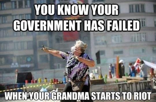 Meme of the year: Grandma protestor in Istanbul