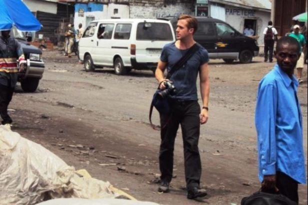 Gosling in DR Congo in 2010