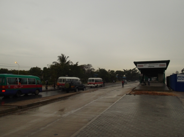 Urafiki bus stand on Morogoro Rd