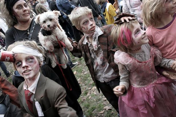 What hope for these Zombie children?