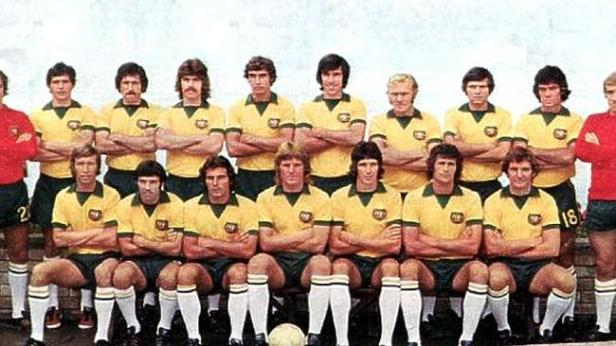 The 1974 Socceroos team
