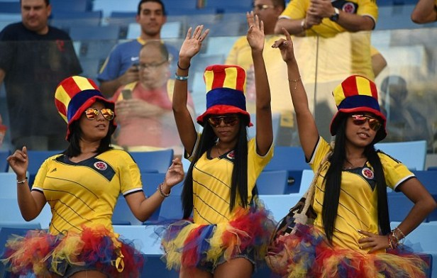 ...and those Colombians again :)