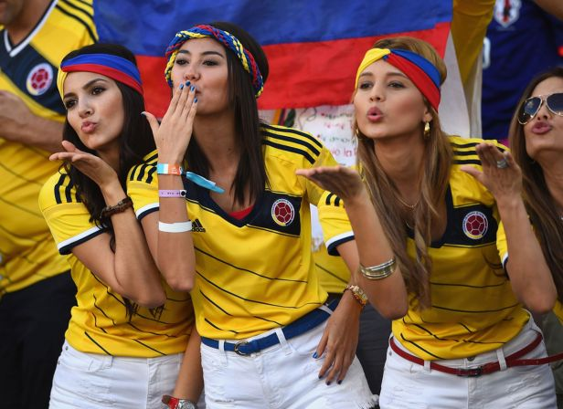 Hot Colombian chicks
