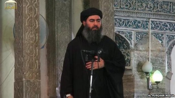 Abu Bakr al-Baghdadi, prefers to wear black because it is a 'slimming colour'