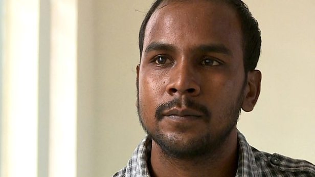 Mukesh Singh, appearing in the BBC documentary