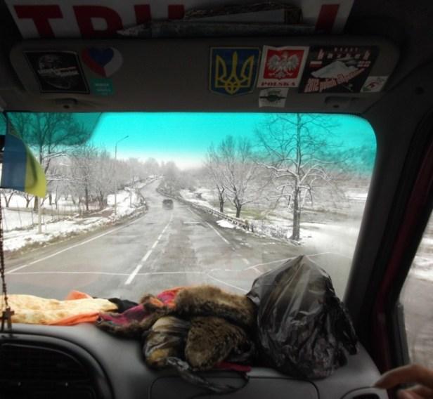 On the Georgian Military Highway (Georgia)