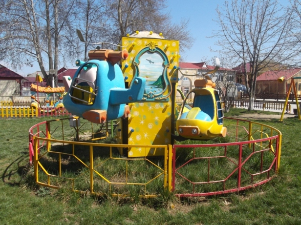 Children's playground in Quba