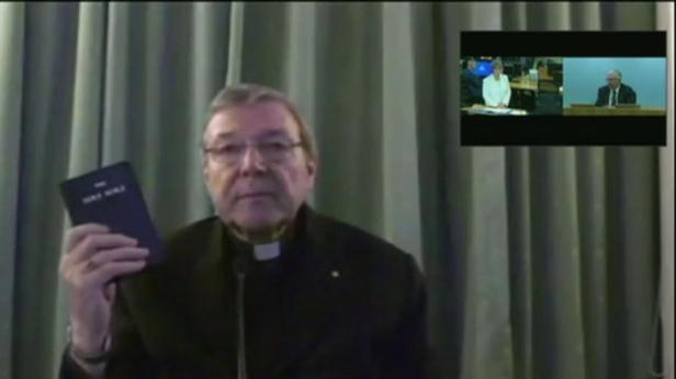 Cardinal Pell appearing before the Royal Commission this week