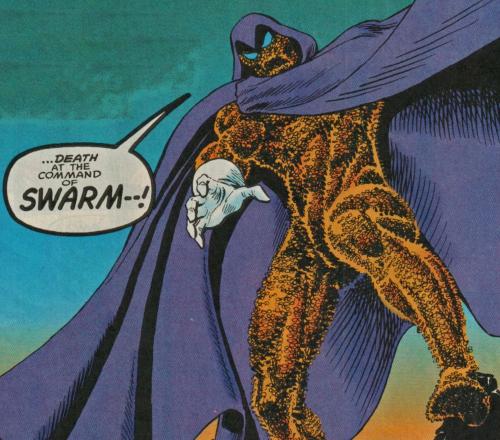 Swarm, the bee man