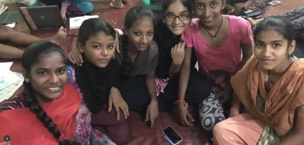 'Adolescent girls in the Mumbai slum of Dharavi are battling the daily challenges they face, one mobile app at a time.'