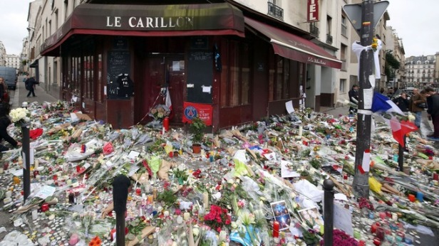 The streets of Paris following the 2015 attack
