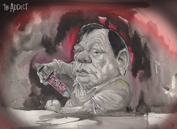 'The Addict' by David Rowe