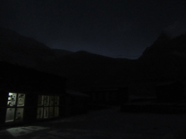 Good morning High Camp, what a wonderful day for a trek