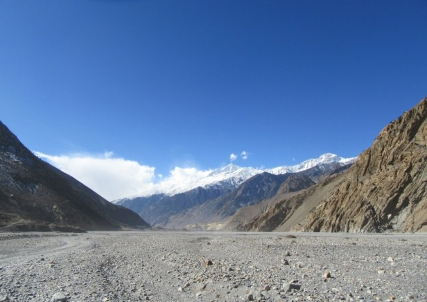 Almost at Jomsom