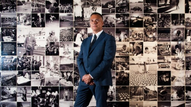 Whinemaker Stan Grant, rising in the ranks